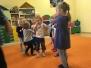 Zajęcia taneczne w grupie Motylki 12.10.2016